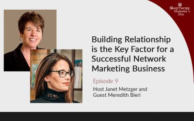 Building Relationship is the Key Factor for a Successful Network Marketing Business