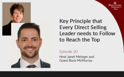 Key Principle that Every Direct Selling Leader needs to Follow to Reach the Top