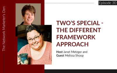 Two's Special – The Different Framework Approach with Melissa Shoop